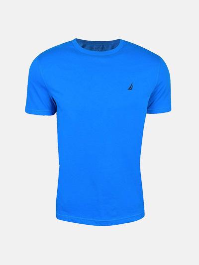 Man Casual Slim Patchwork Short Sleeve T-Shirt